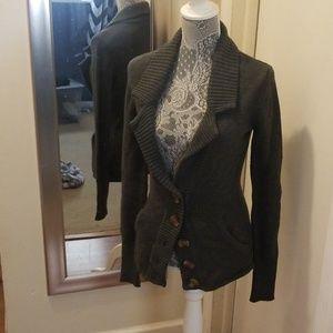 Posh Sweaters - Grey cardigan
